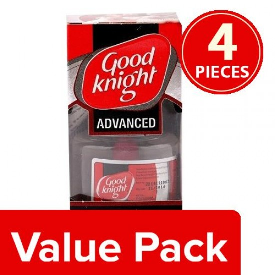 GOOD KNIGHT POWER ACTIV+ DOUBLE POWER MODE MOSQUITO REFILL, 4X45 ML