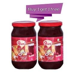 9 AM MIX JAM 500gm BUY 1 GET 1 FREE