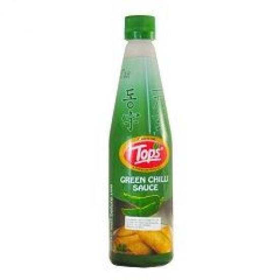 Tops Green Chilli Sauce 200 ml