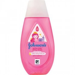JOHNSON'S ACTIVE KIDS SHAMPOO SHINY DROPS 100 ML
