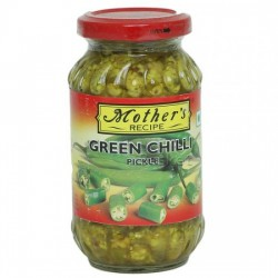 MOTHER'S RECIPE PICKLE - GREEN CHILLI, 300 G JAR
