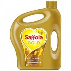 SAFFOLA GOLD - PRO HEALTHY LIFESTYLE EDIBLE OIL, 5 L JAR