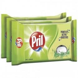 PRIL DISHWASH BAR - LIME, 400 G SET OF 3