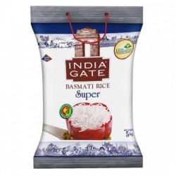 INDIA GATE BASMATI RICE - SUPER, 5 KG