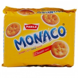 PARLE MONACO SALTED BISCUITS, 200 G POUCH