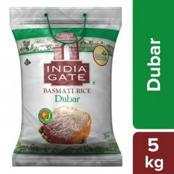 INDIA GATE BASMATI RICE - DUBAR, 5 KG