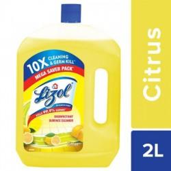 LIZOL DISINFECTANT SURFACE CLEANER - CITRUS, 2 L