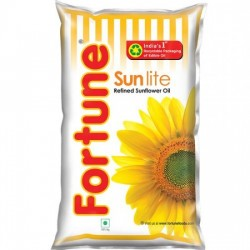 FORTUNE SUNFLOWER REFINED OIL, 1 L POUCH