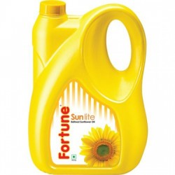 FORTUNE SUNFLOWER REFINED OIL, 5 L CAN