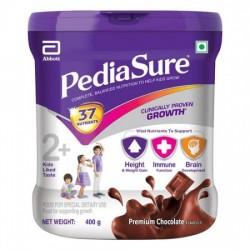 PEDIASURE NUTRITIONAL POWDER - PREMIUM CHOCOLATE, 400 G JAR