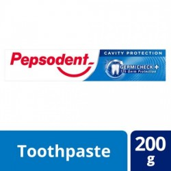 PEPSODENT GERMI CHECK TOOTHPASTE - CAVITY PROTECTION, 200 G