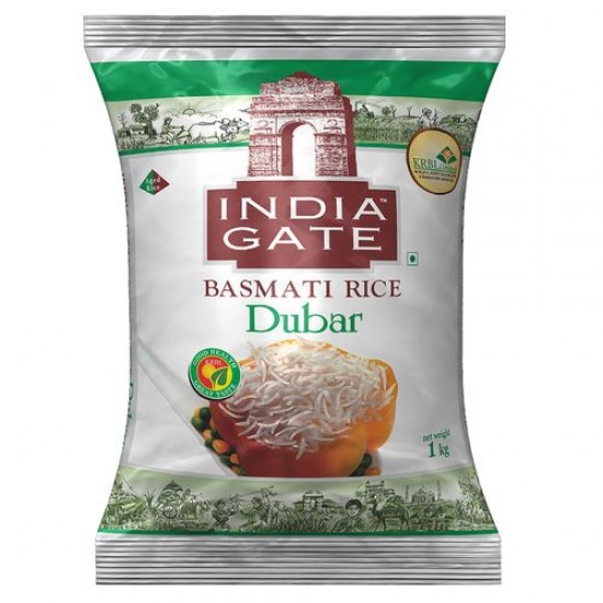 INDIA GATE BASMATI RICE - DUBAR, 1 KG