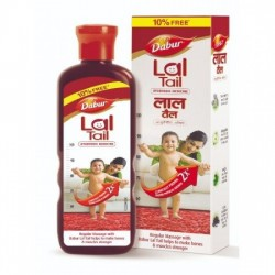 DABUR LAL TAIL - AYURVEDIC BABY MASSAGE OIL, 100 ML