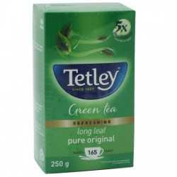 TETLEY GREEN TEA - LONG LEAF, 250 G