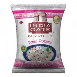 INDIA GATE BASMATI RICE - FEAST ROZZANA, 1 KG