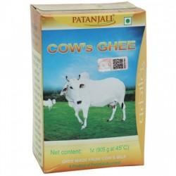 PATANJALI COW GHEE, 1 L CARTON