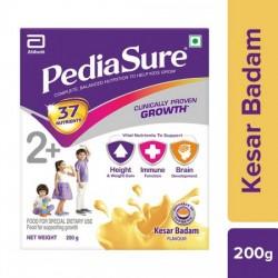 PEDIASURE NUTRITIONAL POWDER - KESAR BADAM, 200 G