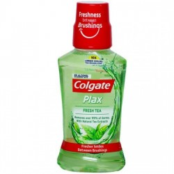 COLGATE MOUTHWASH - PLAX, FRESH TEA, 250 ML