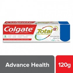 COLGATE TOTAL ADVANCED HEALTH ANTICAVITY TOOTHPASTE, 120 G