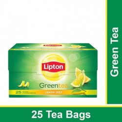 LIPTON GREEN TEA - LEMON ZEST, 25 PCS
