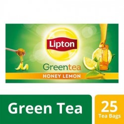 LIPTON GREEN TEA BAGS - HONEY LEMON, 50 G