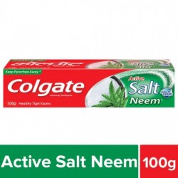 COLGATE TOOTHPASTE - ACTIVE SALT, NEEM, ANTICAVITY, 100 G