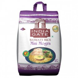 INDIA GATE BASMATI RICE - MINI MOGRA/BROKEN, 10 KG