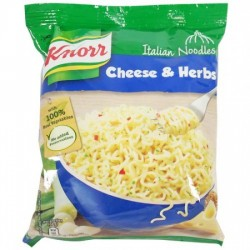 KNORR NOODLES - ITALIAN CHEESE & HERBS, 68 G