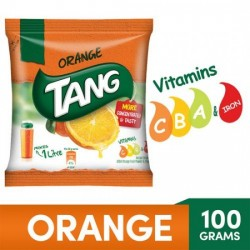 TANG INSTANT DRINK MIX - ORANGE, 100 G