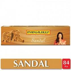 MANGALDEEP SANDAL AGARBATTI - PACK OF 84 STICKS