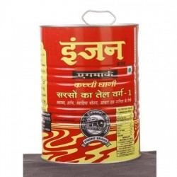 ENGINE MUSTARD OIL KACCHI GHANI 5 LTR.