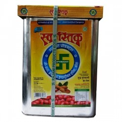 SWASTIK GROUNDNUT OIL TIN 15 KG