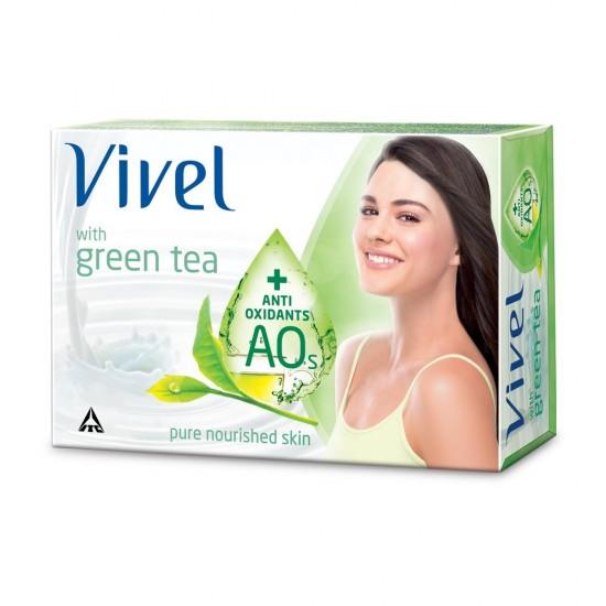 VIVEL GREEN TEA SOAP, 100G