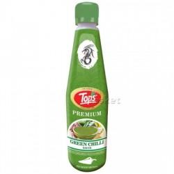 TOPS SAUCE - GREEN CHILLI, 650 G BOTTLE