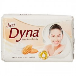 DYNA SOAP, MILK AND ALMOND, 100G (PACK OF 4)