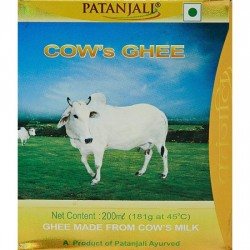 PATANJALI COW'S GHEE, 200ML