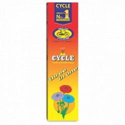 CYCLE THREE IN ONE AGARBATTI, 115G.