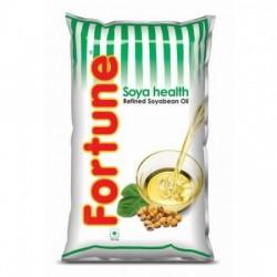 FORTUNE SOYA HEALTH REFINED SOYABEAN OIL (POUCH) 1 L.