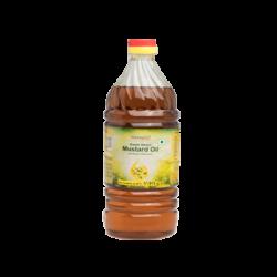 PATANJALI KACHI GHANI MUSTARD OIL, 500ML.